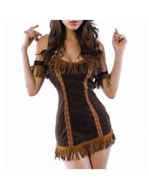 QUEEN COSTUMES PRINCESA INDIA SEXY TALLA UNICA