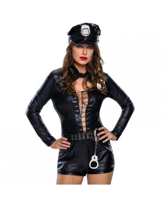 QUEEN POLICIA 6 PCS SET TALLA M