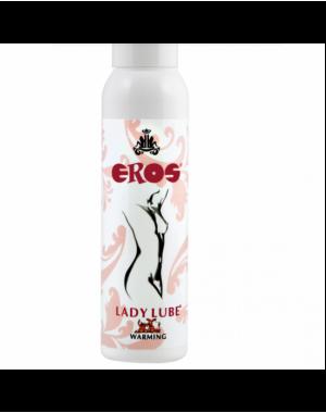 EROS LADY LUBE WARMING LUBRICANTE BASE AGUA EFECTO CALOR 100 ML