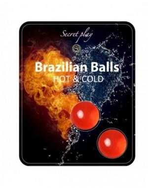 BRAZILIAN BALLS EFECTO CALOR & FRIO 2 UNIDADES