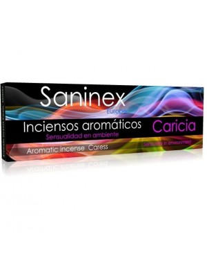 SANINEX INCIENSO AROMATICO CARICIA 20 STICKS.