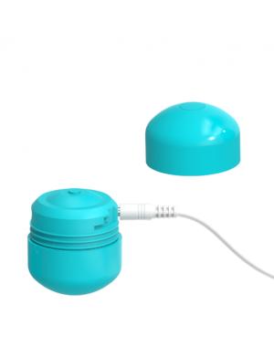 ML CREATION CUTE BULLET POTENTE VIBRADOR RECARGABLE USB GREEN BLUE