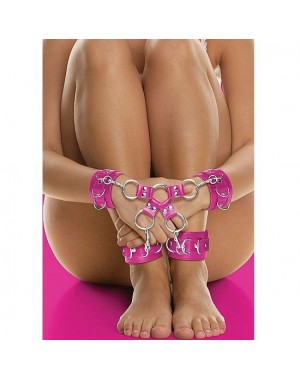 OUCH LEATHER ESPOSAS DOBLE ROSA